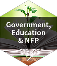 government, education & nfp