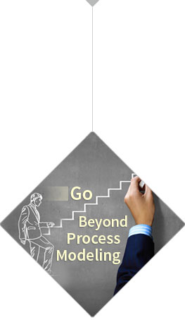 go beyond process modeling