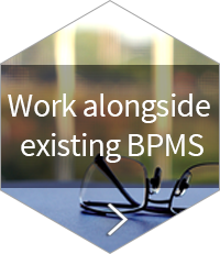 Implement alongside existing BPMS