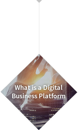 ¿What is a digital business platform?