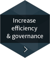 Boost efficiency & governance